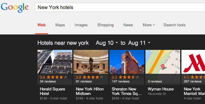 New Your Hotels After Update