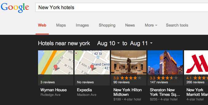 New Your Hotels Before Update
