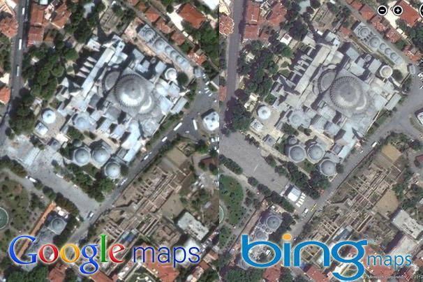 Google and Bing Maps