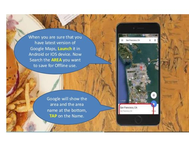 Google Maps in iOs and Android Devices