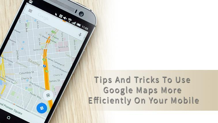 Use Google Map on your Mobile