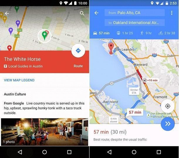 Latest Updates of Google Maps